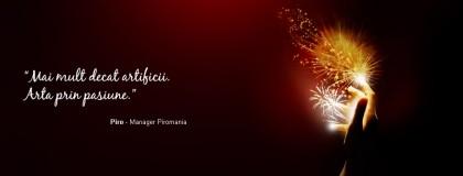 Artificiile Piromania